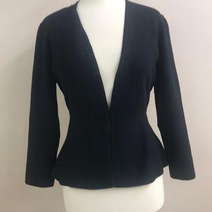 Ann Taylor Factory NWOT black knit cardigan medium